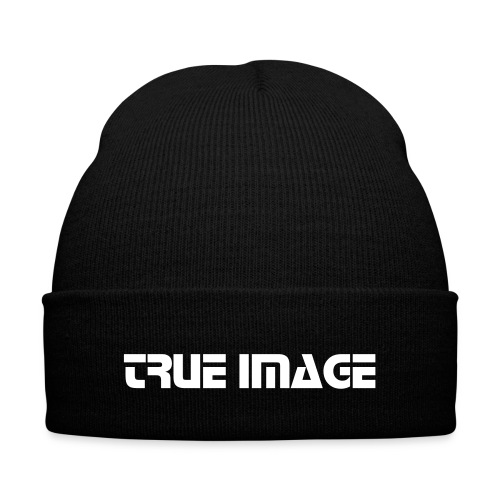 TRUE IMAGE BEANIE - Knit Cap with Cuff Print