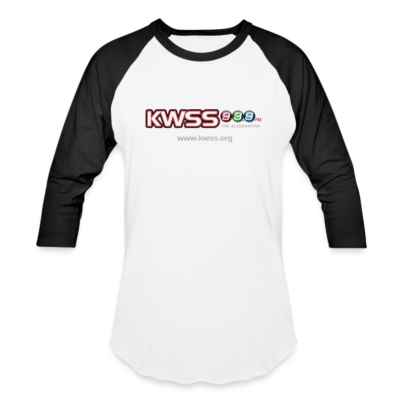 KWSS_939_W_WHT_the_alt - Baseball T-Shirt