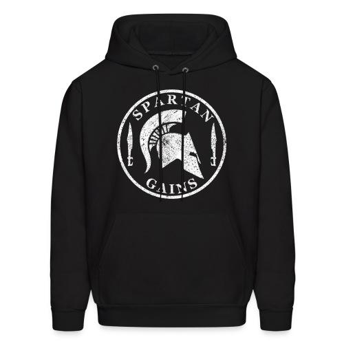 Spartan Gains Hoodie - Men's Hoodie