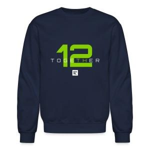 Together Sweatshirt (White/Green) - Crewneck Sweatshirt