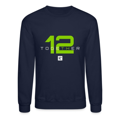Together Sweatshirt (White/Green) - Crewneck Sweatshirt