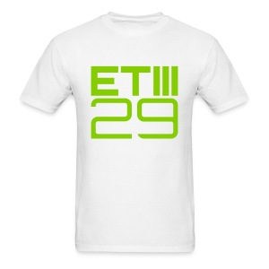 ETIII 29 Easy Fit (White/Green) - Men's T-Shirt