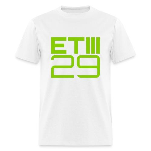 ETIII 29 Easy Fit (White/Green) - Men's T-Shirt