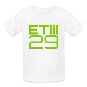 ETIII 29 Kids (White/Green) - Kids' T-Shirt