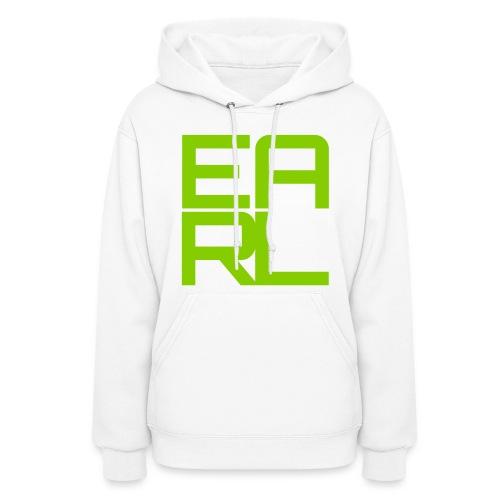 Earl Hoodie (White/Green) - Women's Hoodie