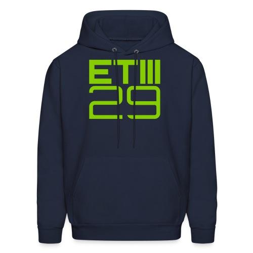 ETIII 29 Hoodie (Navy/Green) - Men's Hoodie