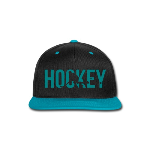 KHats Hockey Black/Blue - Snap-back Baseball Cap