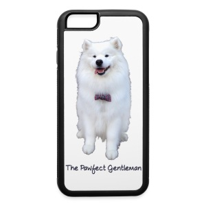 iPhone 6/6s Rubber Case - samoyed,puppy,puppies,polarbear,polar bear,pawfect,paw,harvard dangerfield,gentleman,fluffy,dogs,dog