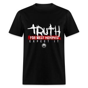 Truth For West Memphis (Rally Shirt) - Men's T-Shirt