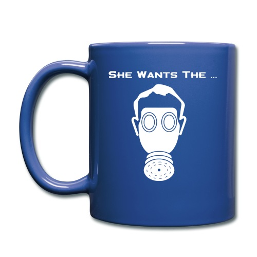 She wants the D - Full Color Mug