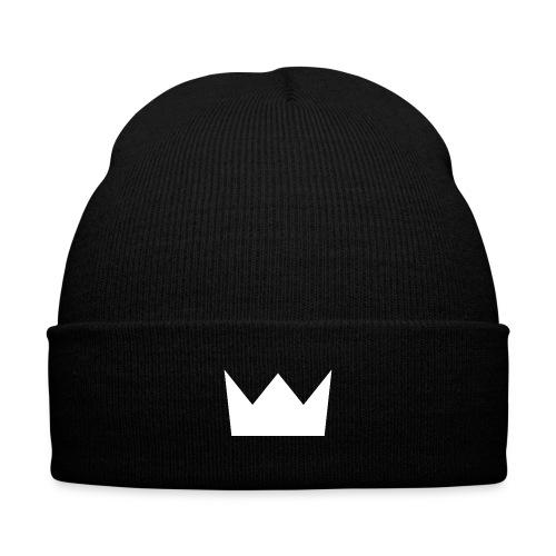 Knit Cap with Cuff Print - white,urban,tye dye,tye,trippy,trip steez,trip,streetwear,street,steez,snowboard,snow,skater,skateboard,skate,king,ice,hoody,hoodies,hoodie,dye,crown,black,baseball tee