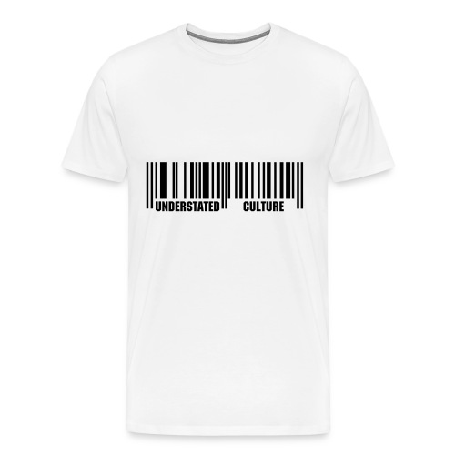 U. Culture Barcode Short Sleeve - Men's Premium T-Shirt