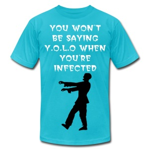 Infected. - Men's Fine Jersey T-Shirt