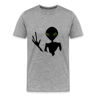 T-Shirts ~ Men's Premium T-Shirt ~ Hello Alien