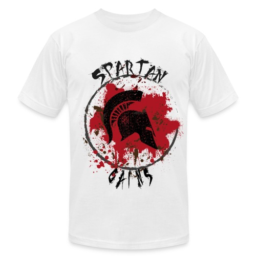 Spartan Gains - Men's  Jersey T-Shirt