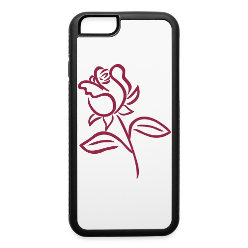 Rose Phone Case - iPhone 6/6s Rubber Case