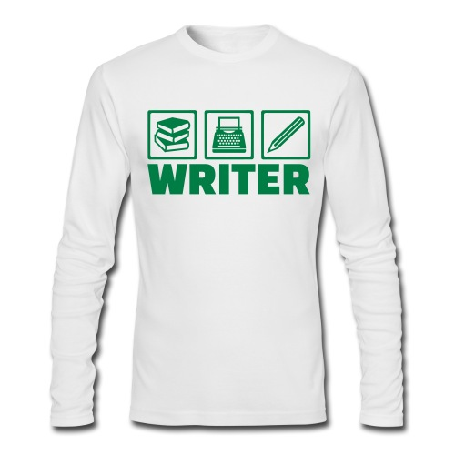 Writer - Men's Long Sleeve T-Shirt by Next Level