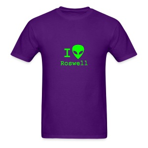 I love Roswell - Men's T-Shirt