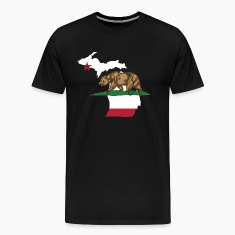 Michigan California Funny Pride Flag Apparel T-Shirts