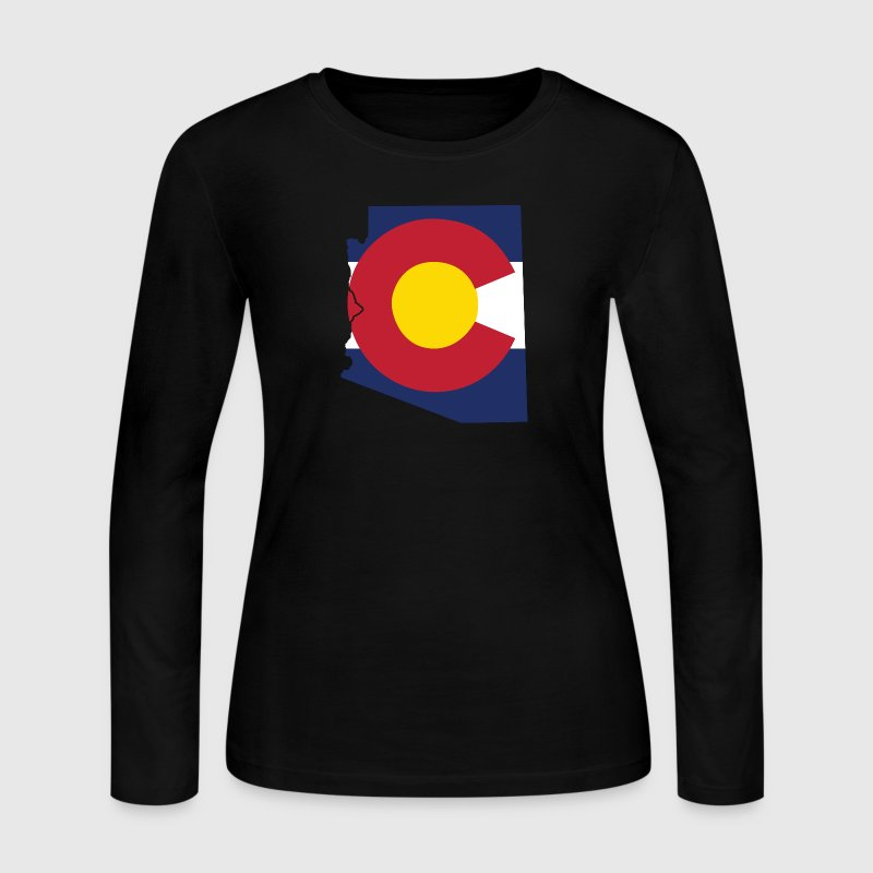 Arizona Colorado Long Sleeve Shirts - Women's Long Sleeve Jersey T-Shirt