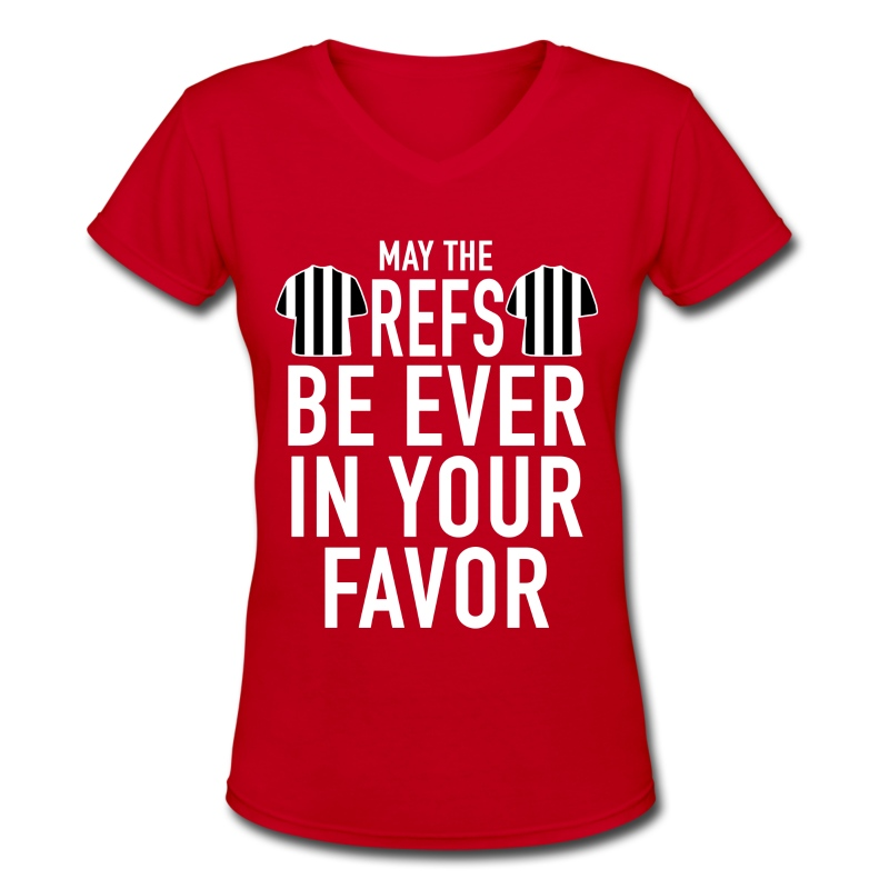 May The Refs - Women's V-Neck T-Shirt