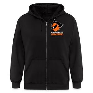 Propeller Anime Men's Zip Hoodie! - Men's Zip Hoodie