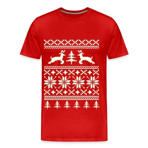 Ugly Christmas Shirt - Men's Premium T-Shirt