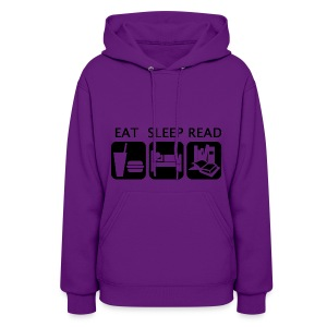 Eat Sleep Read - Women's Hoodie