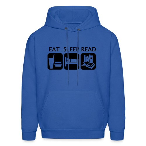 Eat Sleep Read - Men's Hoodie