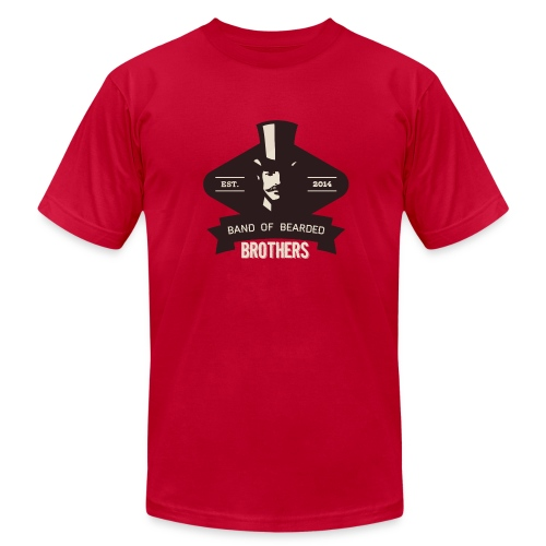Classic B3 Logo American Apparel Tee - Men's Fine Jersey T-Shirt