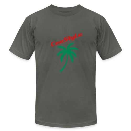 CeeStyle Palm Tree Slim Fit Men's T-Shirt - Men's  Jersey T-Shirt