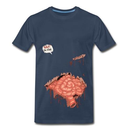 I'm fine - Blue - Men's Premium T-Shirt