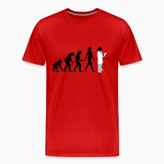 evolution_of_woman_female_doctor_112014_ T-Shirts