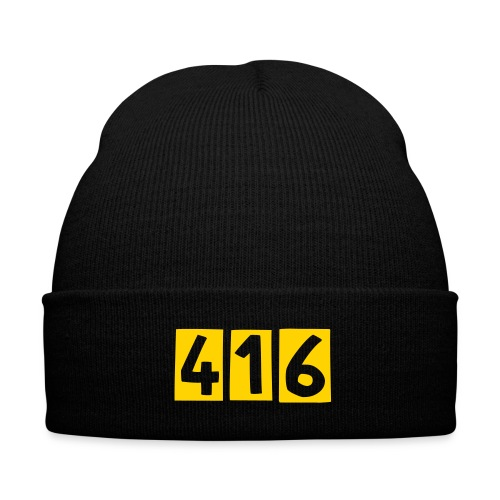 KHats 416 - Knit Cap with Cuff Print