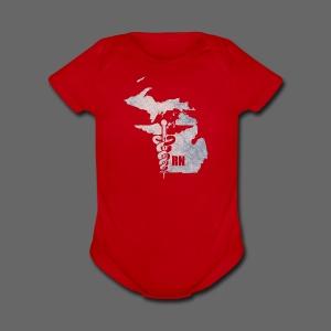 Michigan RN - Short Sleeve Baby Bodysuit