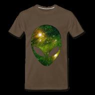 T-Shirts ~ Men's Premium T-Shirt ~ Alien head
