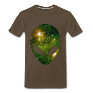 Alien head - Men's Premium T-Shirt