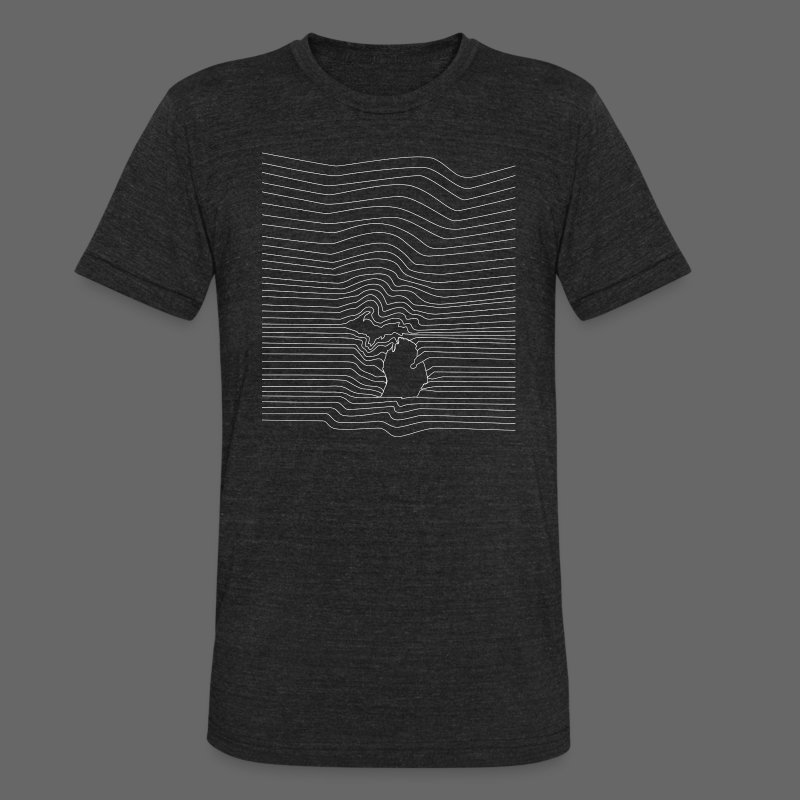 The Michigan Division - Unisex Tri-Blend T-Shirt by American Apparel
