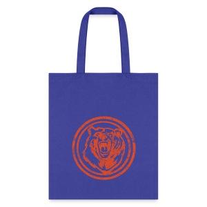 Circle Orange Bear - Tote Bag