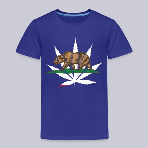 Cannabis Bear - Toddler Premium T-Shirt