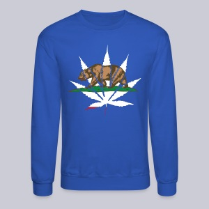 Cannabis Bear - Crewneck Sweatshirt