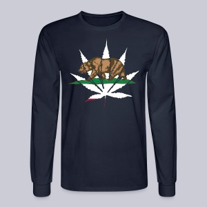 Cannabis Bear - Men's Long Sleeve T-Shirt