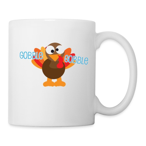 Cute Gobble Gobble Turkey - Coffee/Tea Mug
