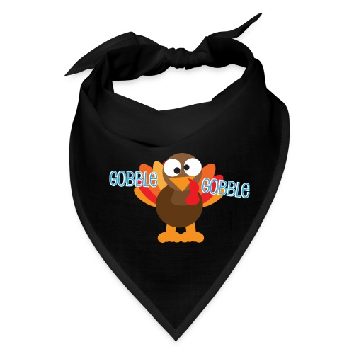 Cute Gobble Gobble Turkey - Bandana
