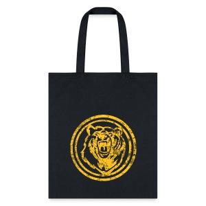 Circle Yellow Bear - Tote Bag