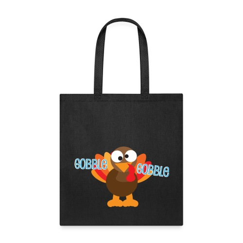 Cute Gobble Gobble Turkey - Tote Bag