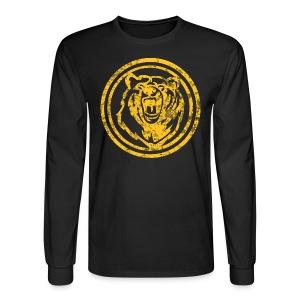 Circle Yellow Bear - Men's Long Sleeve T-Shirt