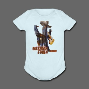 Mexican Town - Short Sleeve Baby Bodysuit