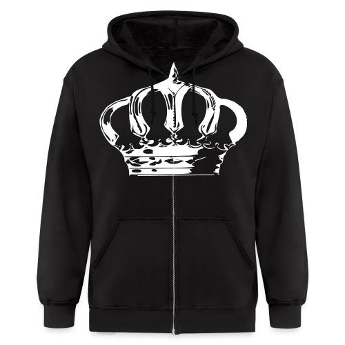 The Royal chest piece - Men's Zip Hoodie