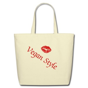 Vegan Style Tote - Eco-Friendly Cotton Tote